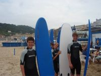 Spanish & Surf in San Sebastian