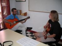 Flamenco guitar lessons in Granada