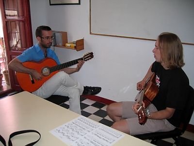 Spanish and guitar lessons in Granada