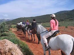 Spanish & horseback riding at Sierra Nevada National Park