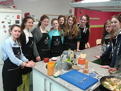 Spanish courses and cooking classes in Spain