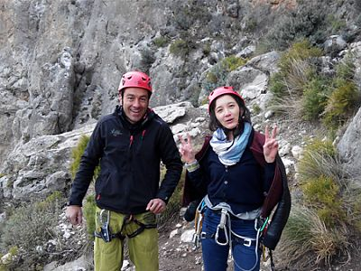 Spanish and Rockclimbing in Granada