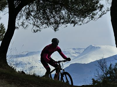 Learn Spanish in Granada and enjoy mountain biking