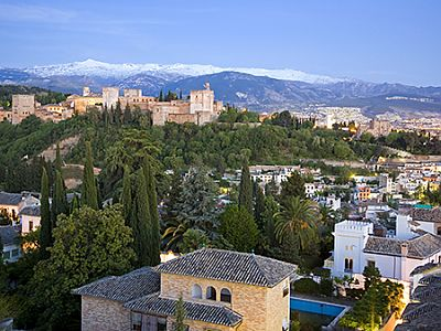 Travelling to Granada, Spain