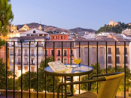 Hotel accommodation in Granada, Spain