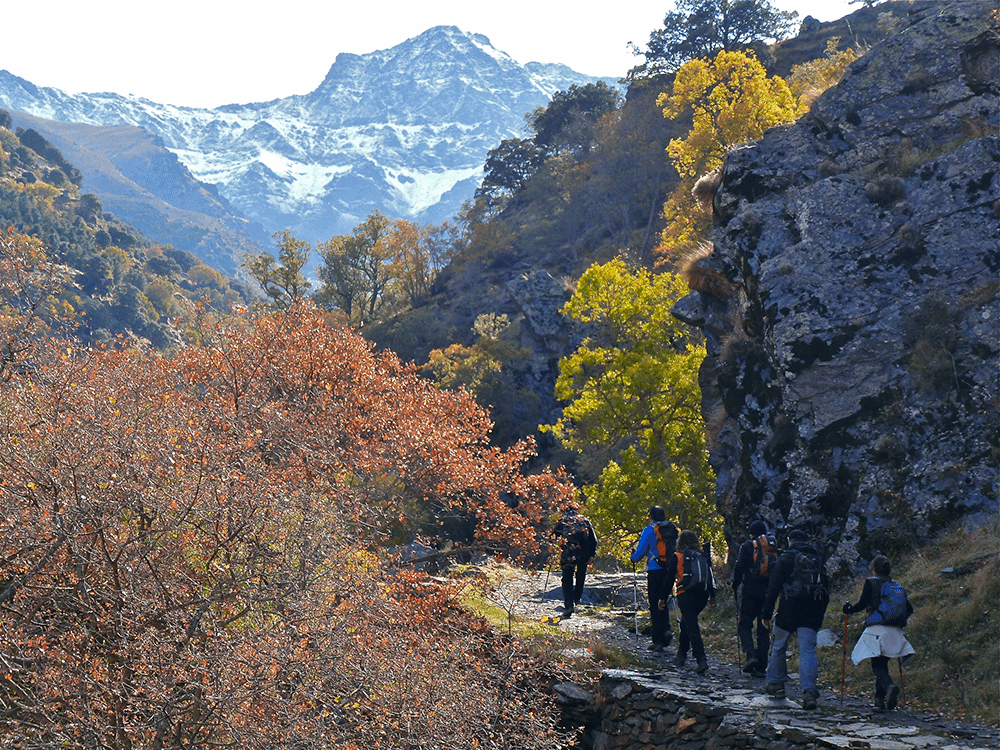 Hiking in Sierra Nevada, Spain