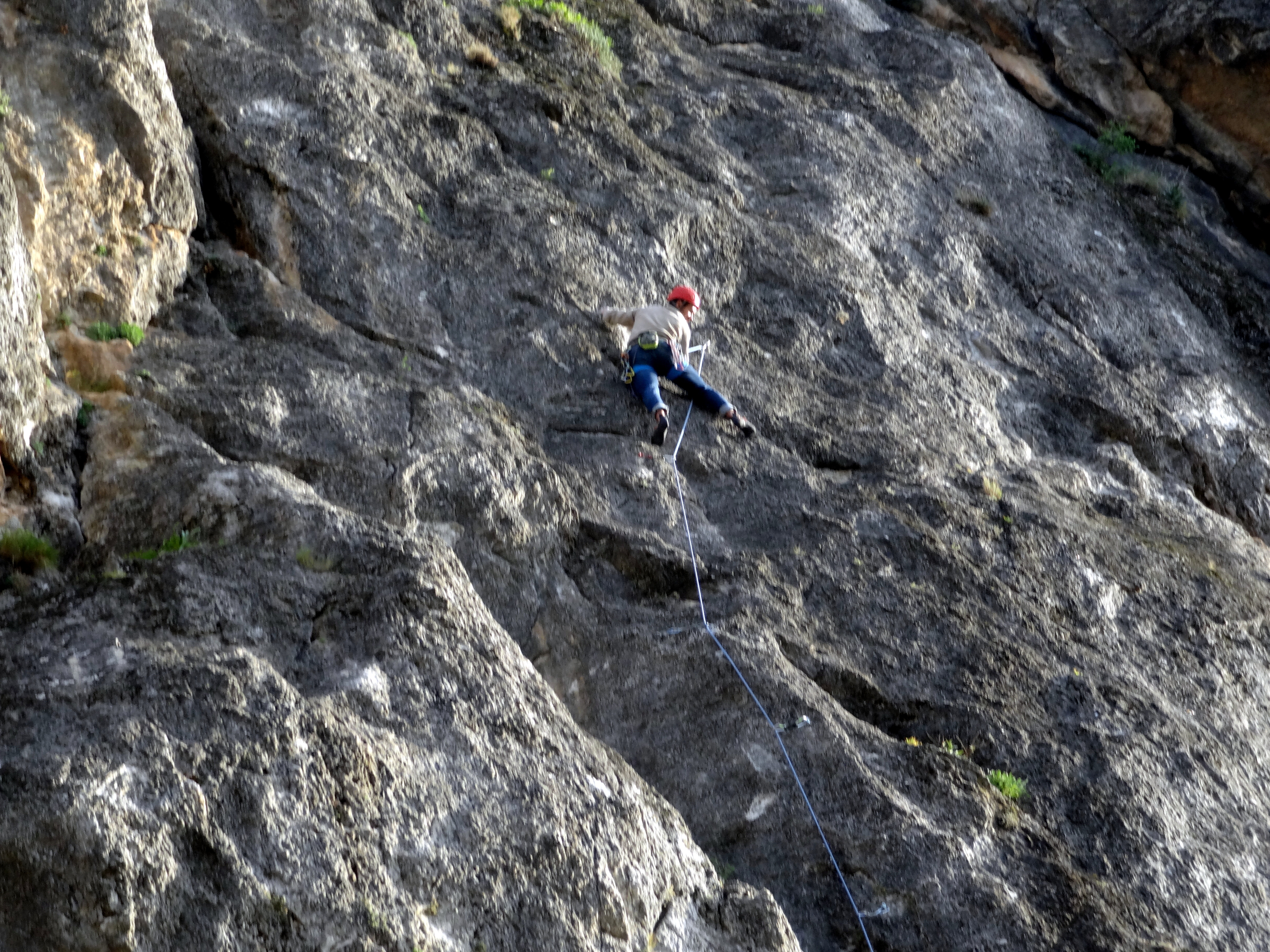 Spanish and Rockclimbing in Granada, Spain