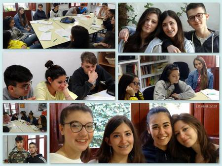 Spanish courses for secondary school groups at Escuela Montalban in Granada
